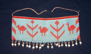Kirdi Cache - Sexe African Beaded Apron - Cameroon photo