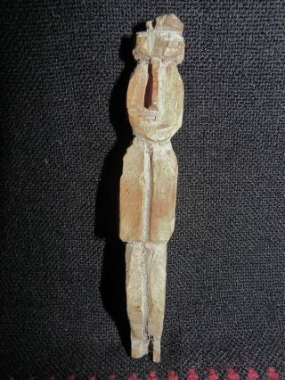 Kuna Panama Indian Small Nuchu Healing Figure photo