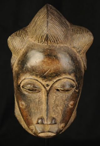 Baule Costume Mask - Ivory Coast - African Masks photo