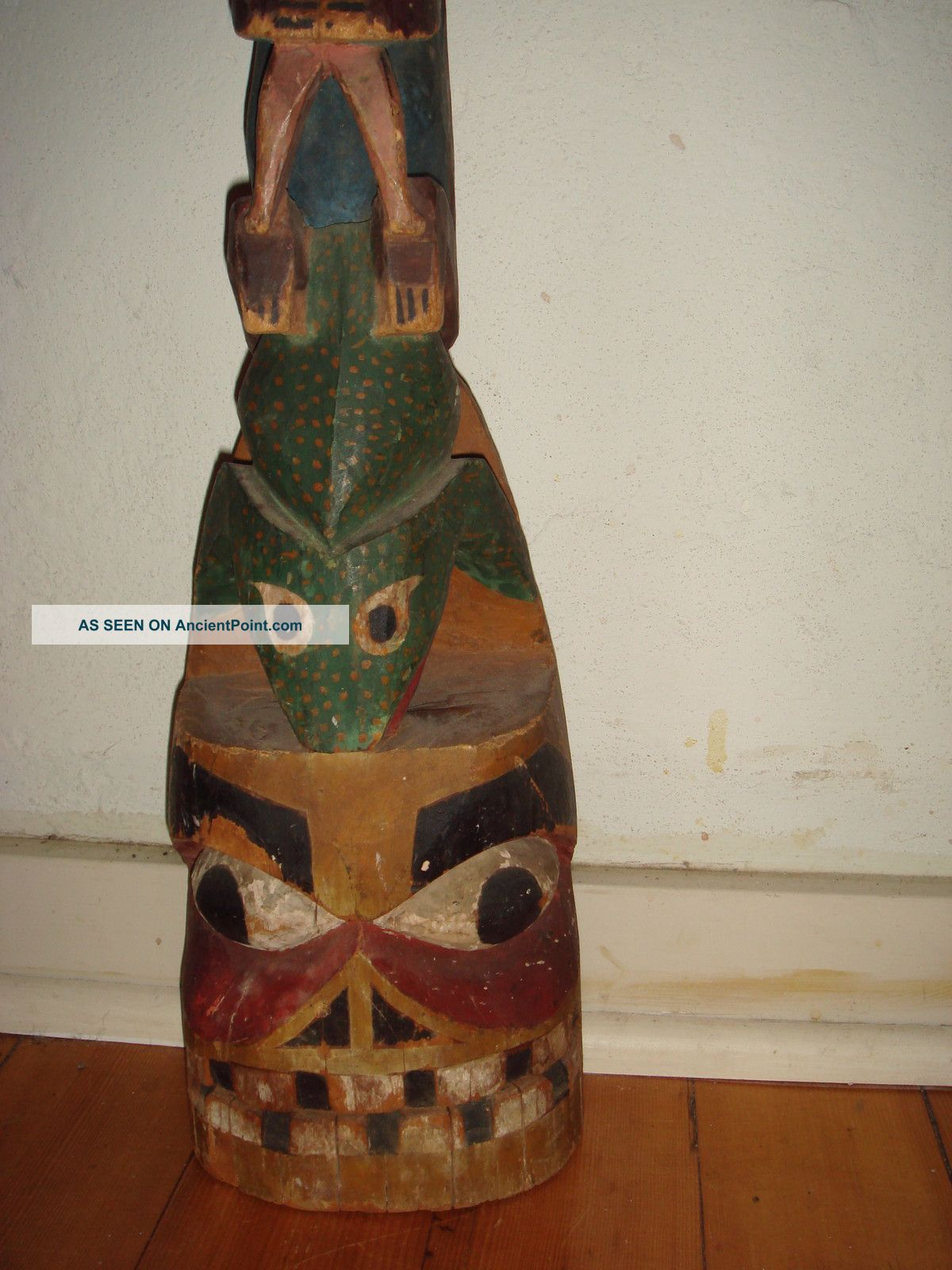 Antique Primitive Salish Tlingit 24