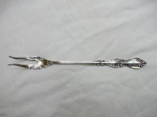 Antique 1930 ' S Sterling Silver Pickle Fork Marked Pat.  Sterling 22.  6 Grams photo