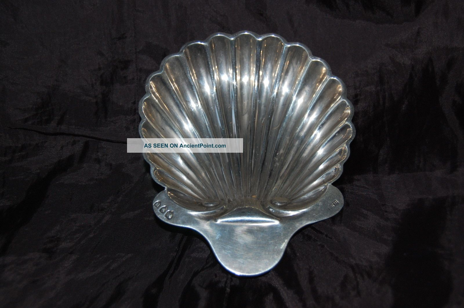 George Maudsley Jackson Silver Dish/butter London 1883/1896 Dishes & Coasters photo