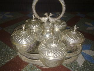 Silver Antiques Totaly Made Of Fine Silver Having 30 Year Period By Hand photo