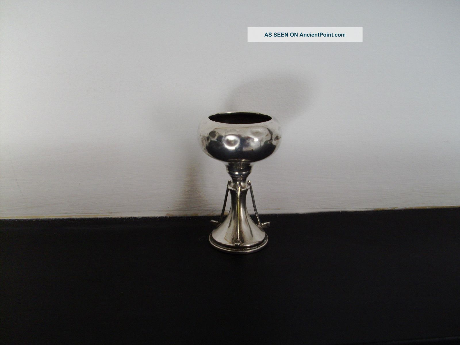 Vintage Solid Silver Small Golf Trophy Birmingham 1937 Other photo