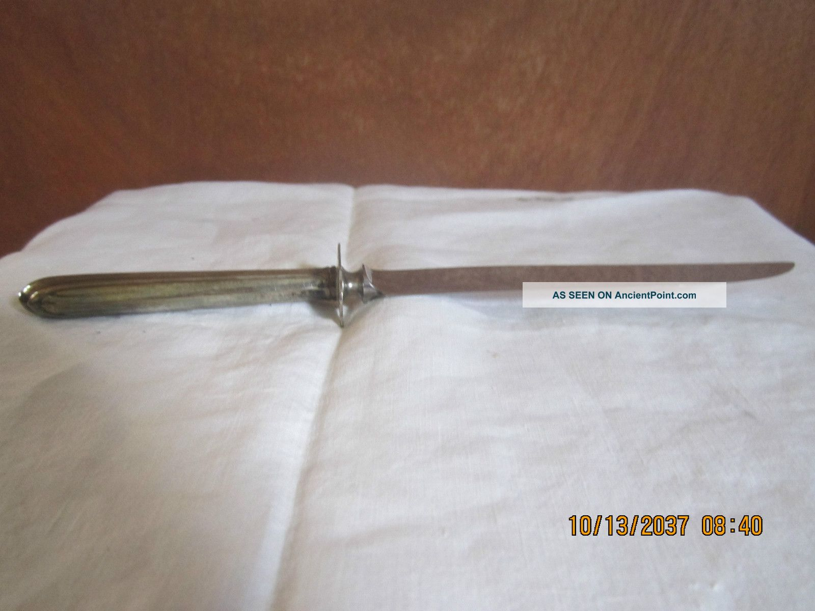 Sterling Silver Carving Knife Other photo