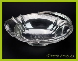 Antique 19thc Georgian Solid Silver Fruit Basket,  G Smith Ii & T Hayter C.  1801 photo