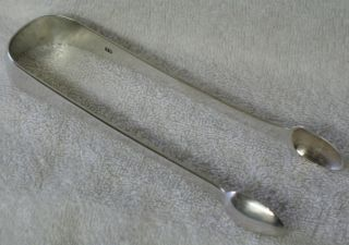 Thomas Watson Sterling Silver Sugar Tongs Newcastle Circa 1805 photo