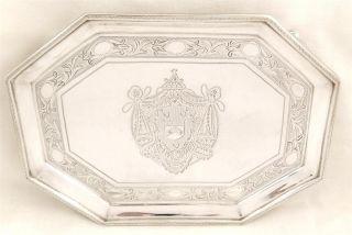 Antique Hallmarked Sterling Silver Teapot Stand - 1795 - John Hutson - 159g photo