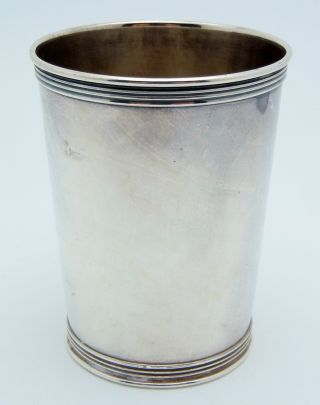 Manchester Sterling Silver Mint Julep Cup 124.  4 Grams photo