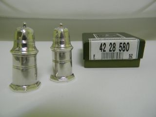 Christofle Sterling Silver Salt & Pepper Set (3 Avail) photo
