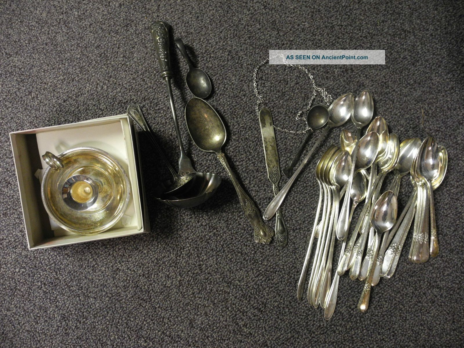 Vintage Silver Plated Flatware Pieces And Others Other photo