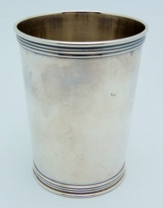 Manchester Sterling Silver Mint Julep Cup 123.  5 Grams photo