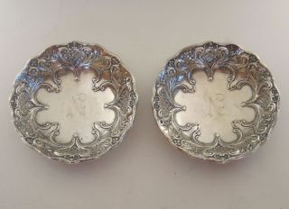 Pair Of Sterling Dishes By Whiting photo