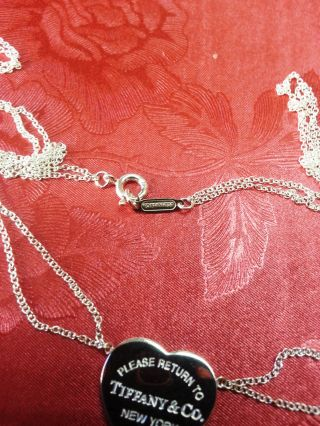 Tiffany&co.  Return To Tiffany Heart Tag Double Chain Necklace photo