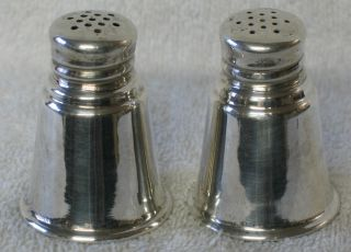 International Silver Company Sterling Salt And Pepper Shaker Set Of 2 photo