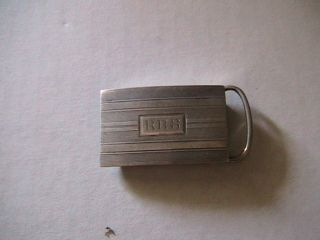 Sterling Silver Belt Buckle Pat.  Mar.  20 1915 photo