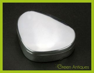 Antique 19thc Georgian Solid Silver Snuff Box,  Peter & William Bateman C.  1807 photo