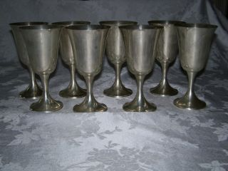 Sterling Silver Goblets photo