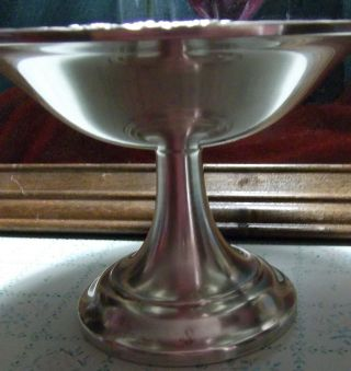 Silverplated Compote By International Silver. photo