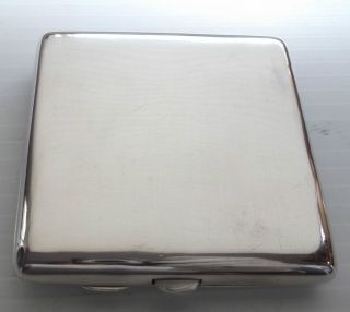 Hallmarked Solid Sterling Silver Victorian Double Cigarette Case 1898 Nr Mint photo