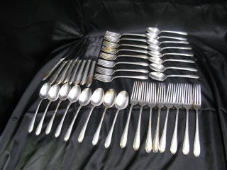 Settings For 8 40 Piece Flatware For Gorham Electro Plated Ep photo