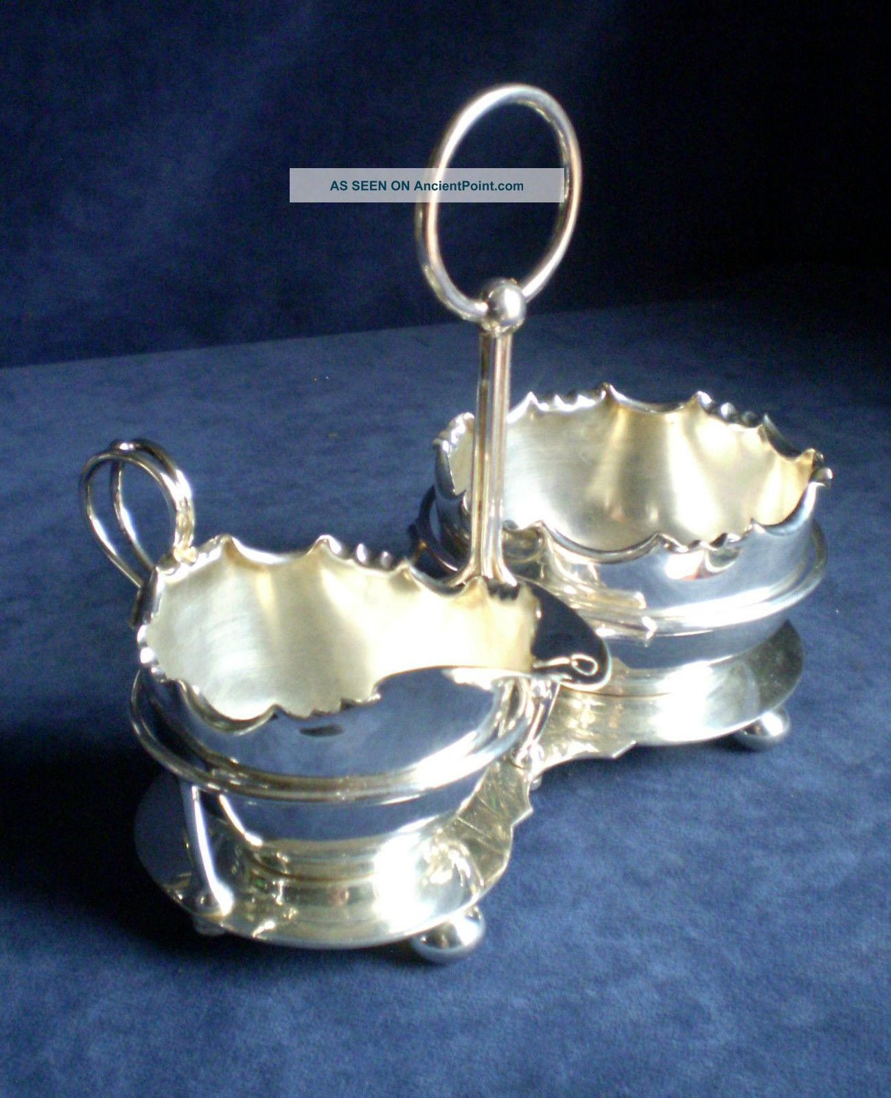 Silver Plated Jug & Bowl On Stand C1900 By Barker Ellis Tea/Coffee Pots & Sets photo