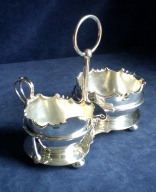 Silver Plated Jug & Bowl On Stand C1900 By Barker Ellis photo