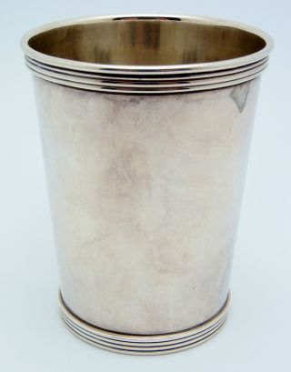 International Sterling Silver Mint Julep Cup 124.  7 Grams photo