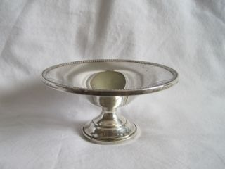 Antique Sterling Silver Compote Bowl photo