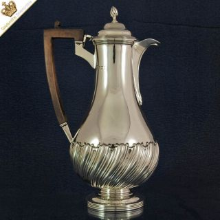 Silver Wine Ewer Claret Jug 1906 Sharman Dermott Neill - Irish Silversmith photo