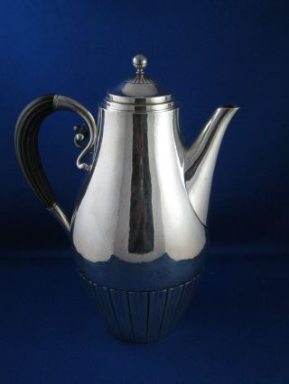 Georg Jensen Coffee Pot 45a Designed By Johan Rohde Dated 1933 - 44 photo