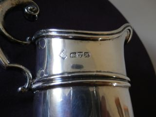 Solid Silver Cream Jug,  Hallmarked Chester1908.  Perfect Condition.  109.  1gms photo