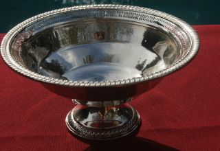 Sterling Reticulated Centerpiece Bowl - No Monogram photo