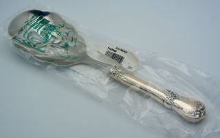 Towle Sterling Silver Niw Pierced Utility Spoon Old Master photo