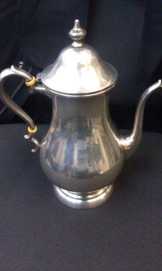 Sterling Silver Coffee Pot Preisner photo