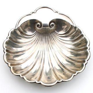 Vintage / Antique Gorham Sterling Silver Shell Bowl Candy / Bon Bon / Nut 445 photo