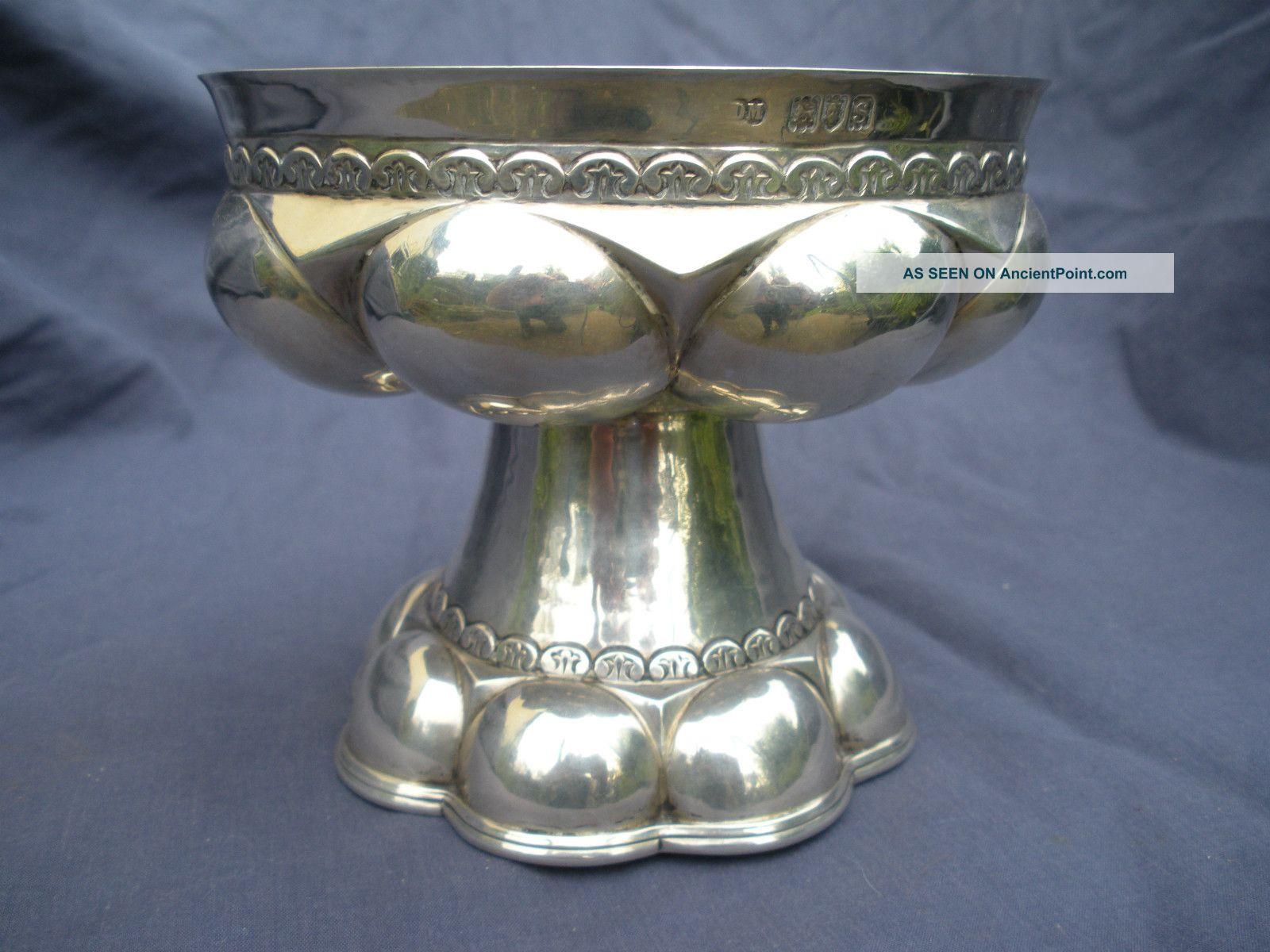 Silver Arts&crafts Bowl London 1913 Weight 380g Bowls photo