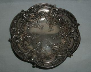 Sterling Silver Bon Bon Dish