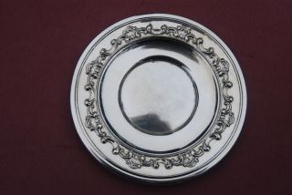 Sterling Saucer Or Butter Pat - Strasbourg - Gorham - Nm photo