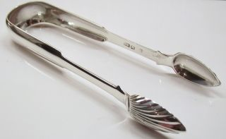 Robert Keay Of Perth Silver Sugar Tongs photo