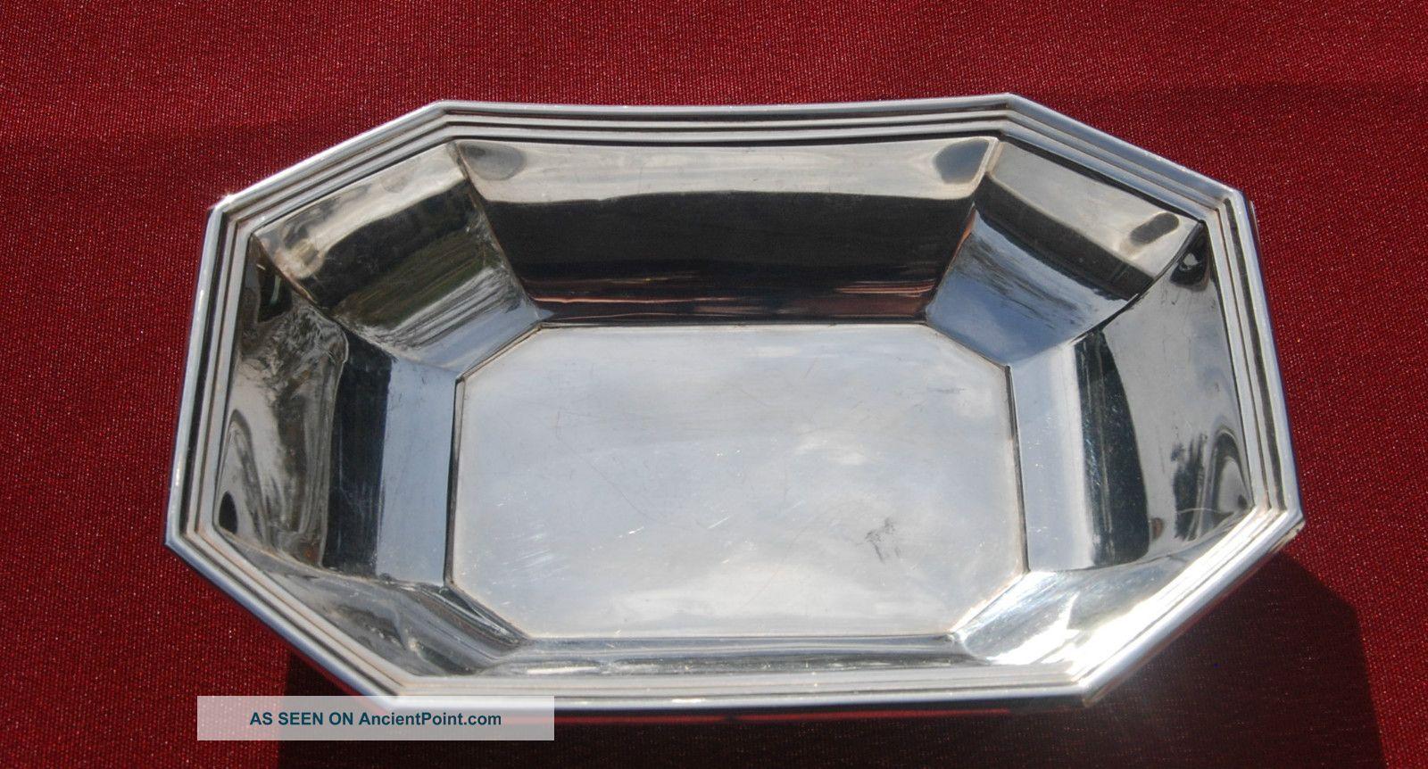 Sterling Relish Dish - Gorham - No Monogram Bowls photo