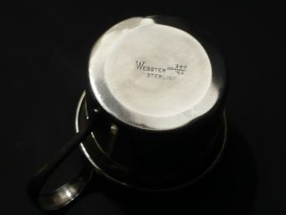 Webster Sterling Baby Cup photo