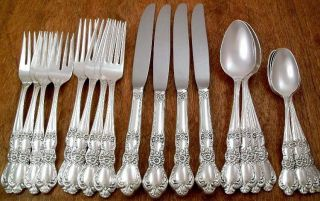 Rogers 1953 Heritage Silverplate Flatware Dinner Set 20 Pc 4 Place Settings photo