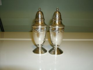 Towle Sterling Silver Salt & Pepper Shakers photo