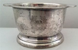 Waldorf Astoria Silver Soldered Silverplated 6 Oz Sugar Bowi Intl Silver Nr photo