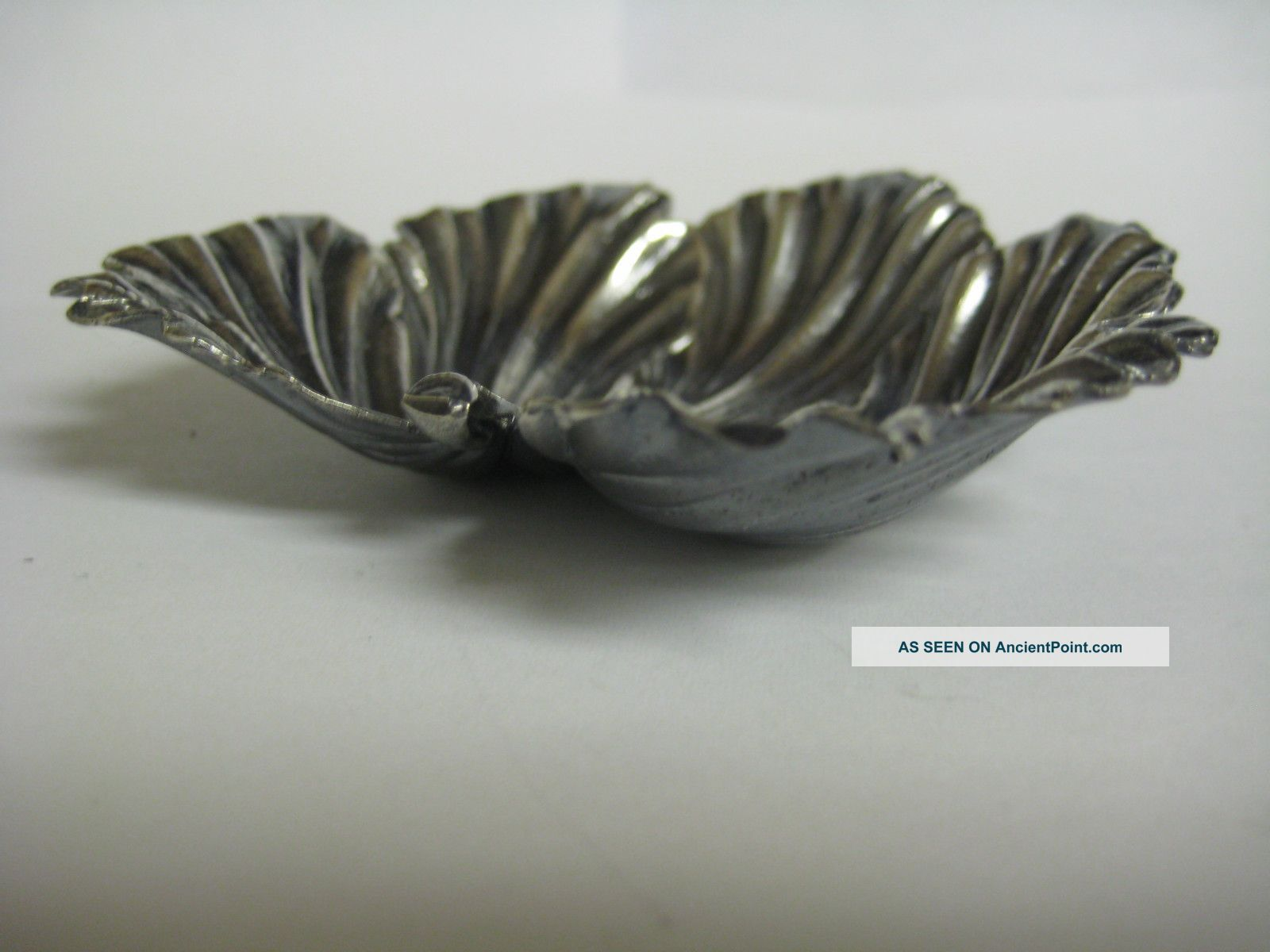 Gianmaria Buccellati Sterling Silver Fig Leaf Dish Dishes & Coasters photo