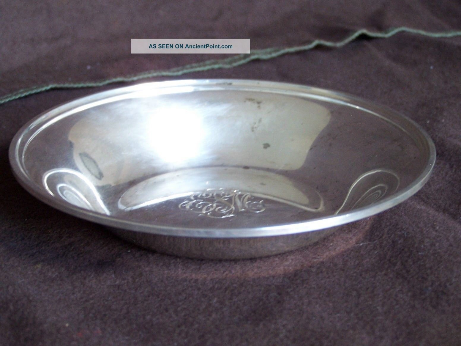 S.  Kirk And Son Baltimore Sterling Silver Bowl,  Dish 100g Bowls photo