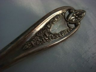 1847 Rogers Triple Silver - Plate Gorgeous Serving Butter Knife,  Estate Sale photo