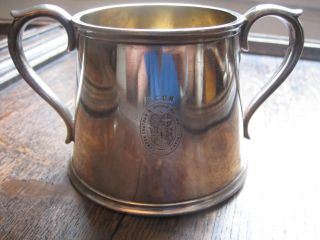 Lcdr Cup - London Chatham Dover Railway Company Elkington Silver Plate L.  C.  D.  R photo