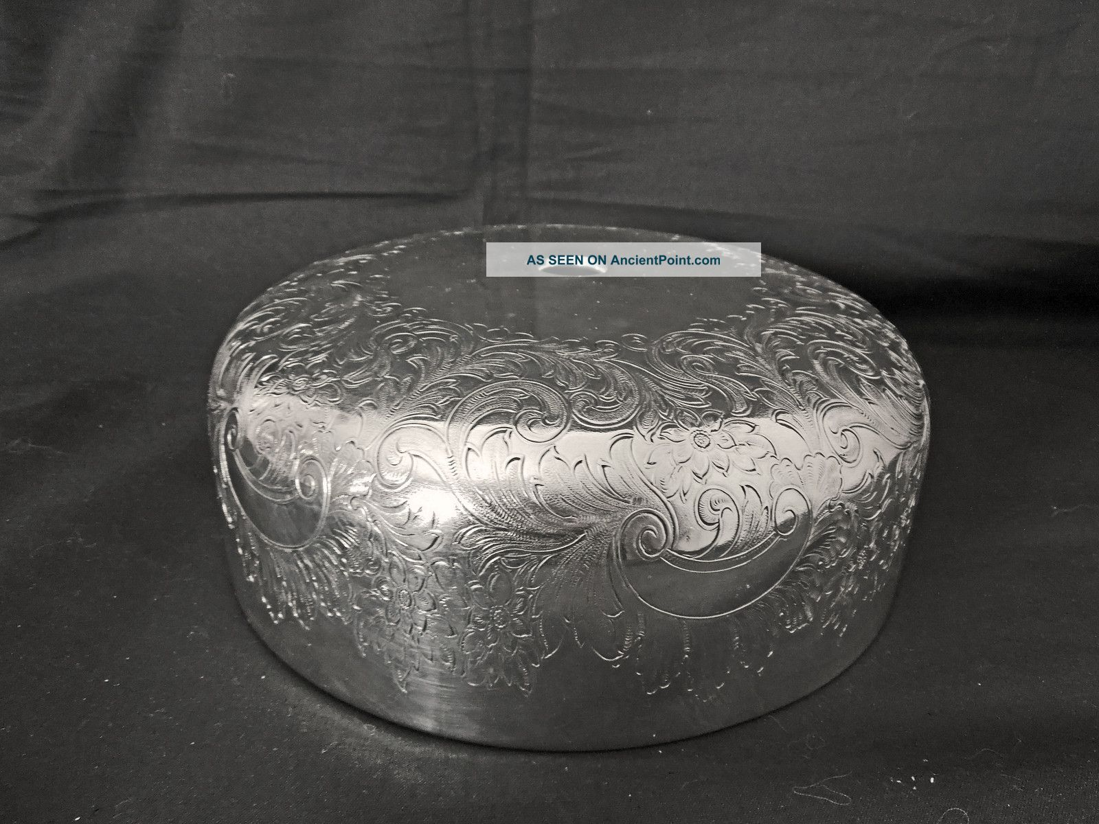 Very Fine English Barker Bros Silver Plated Dome Plate Cover Other photo